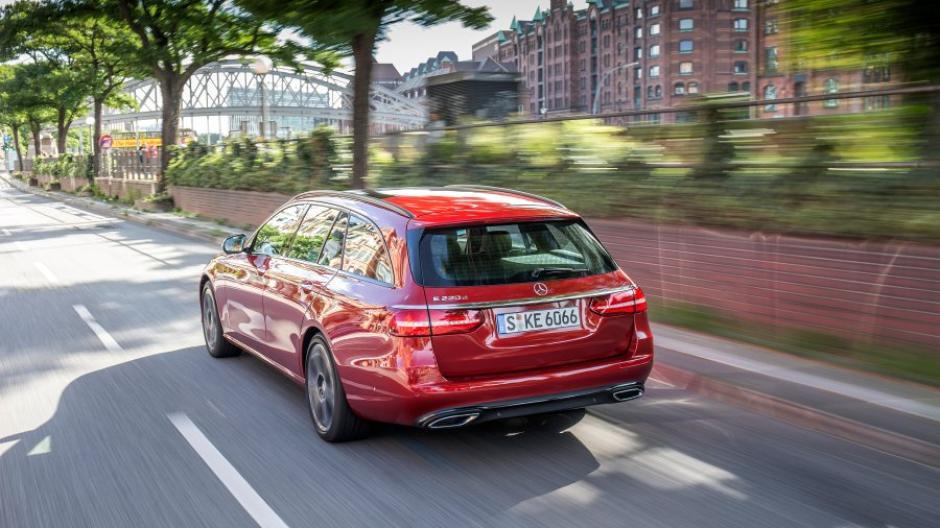 Test Neues T Modell Der Mercedes E Klasse Lifestyle Für Den Laster