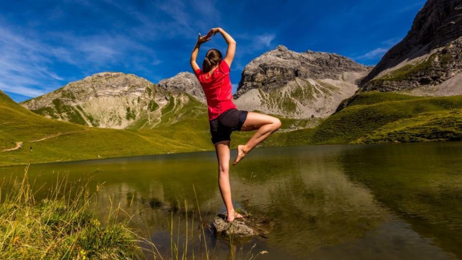 Weil Yoga beim Abnehmen hilft