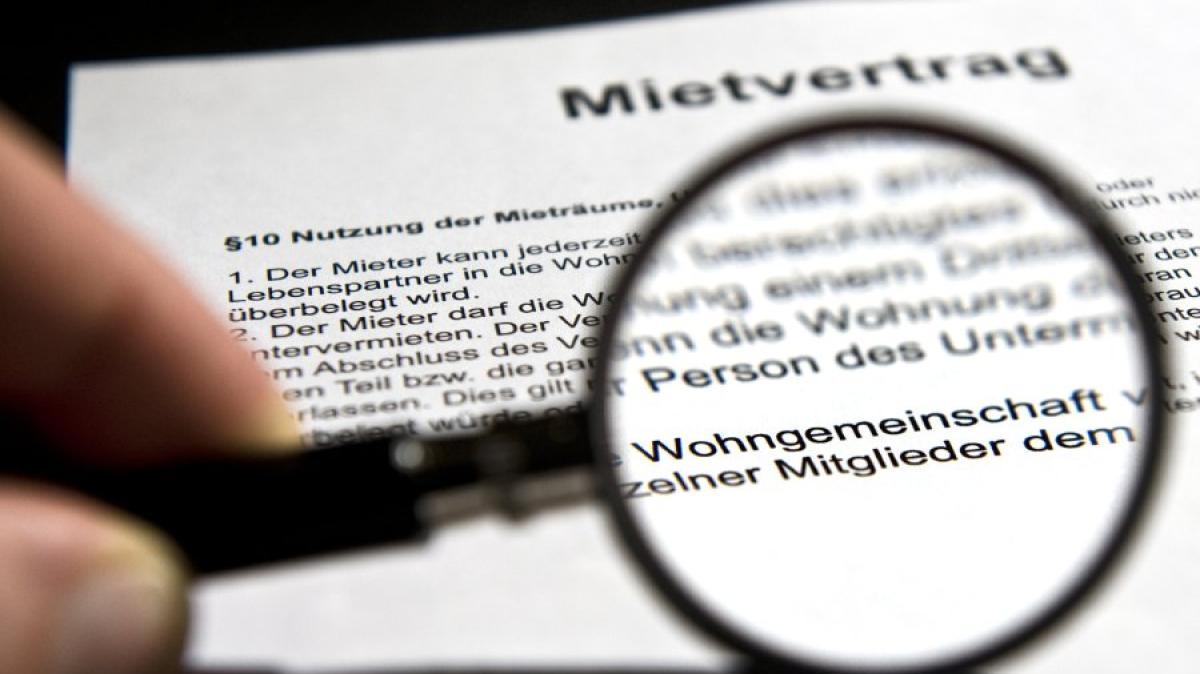 Mietrecht: Wer unterschreibt in einer WG den Mietvertrag? - Geld ...