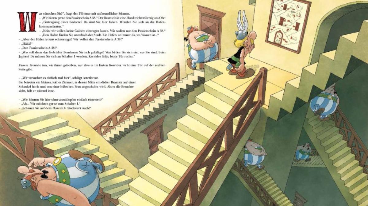 Asterix Erobert Rom Passierschein