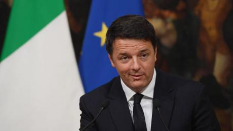 Italiens Ex-Premier steckt mitten im Machtkampf.