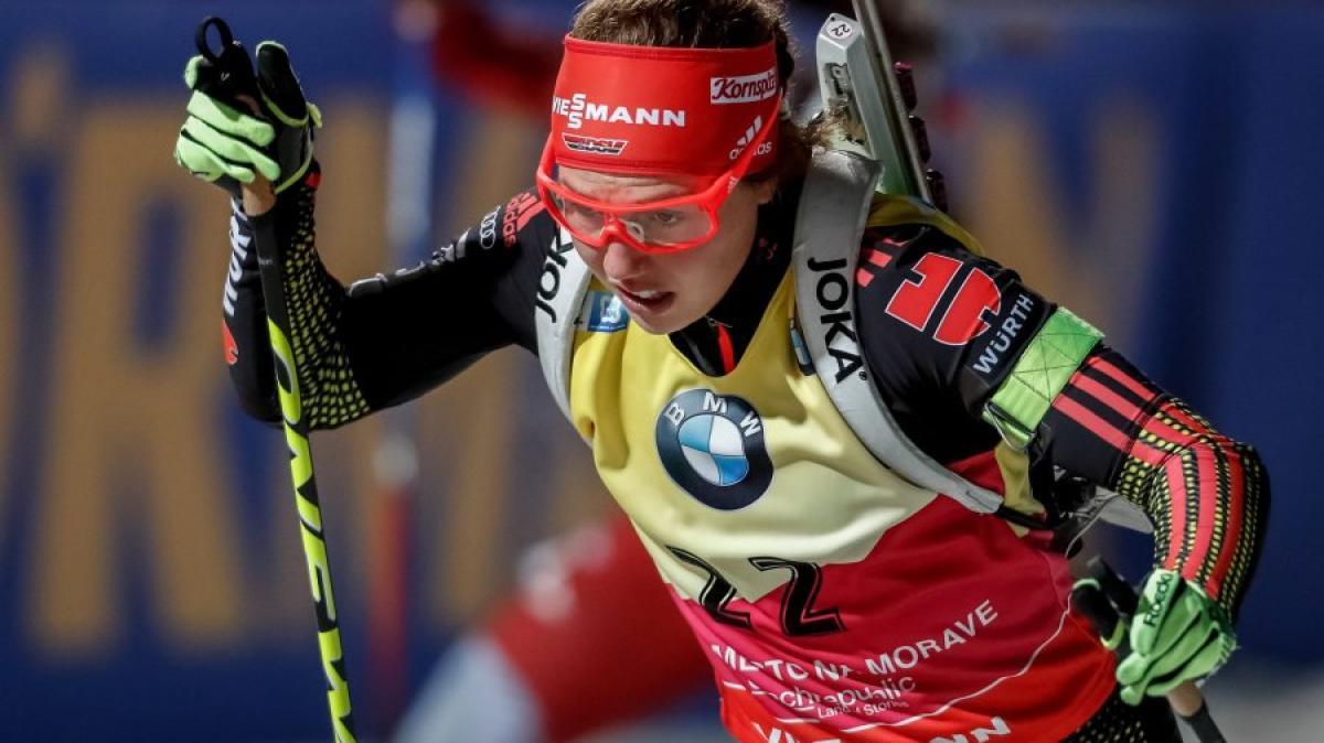 biathlon sprint der damen
