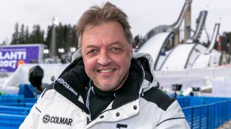 FIS Nordische Ski Weltmeisterschaft - NWM - Lahti 2017 - Finnland - Jochen Behle im Stadion, hier ging er 1979 zum ersten mal an den Start - Langlauf - Eurosport - Kommentator