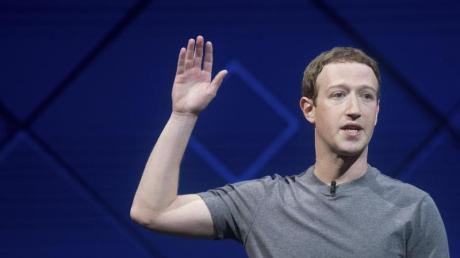 Facebook-Gründer Mark Zuckerberg ist mit den Geschäftszahlen im ersten Quartel 2017 zufrieden.