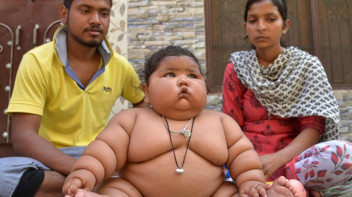 das übergewichtigste Land
