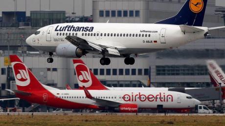 Air Berlin ist hoch verschuldet. Foto:Oliver Berg