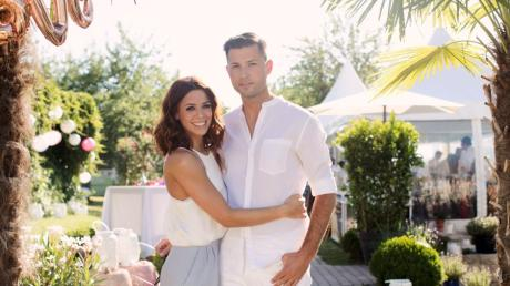 dpa-exklusiv: Hochzeitsparty Vanessa Mai