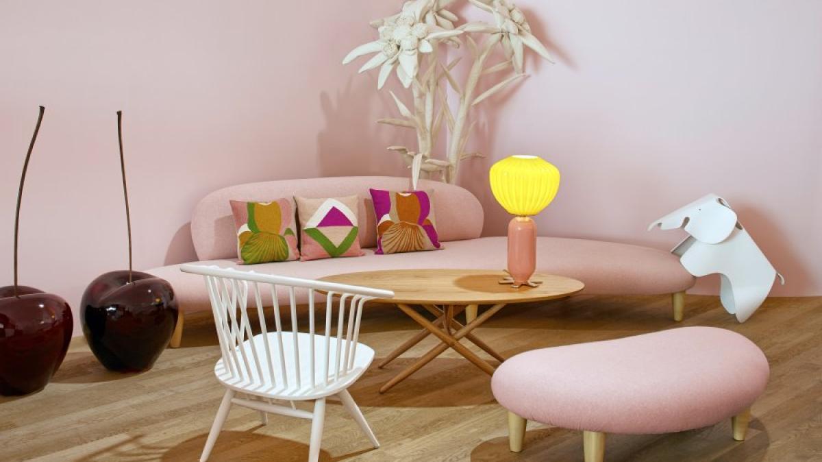 wohnen pl tzlich irgendwie cool rosa m bel erobern den designermarkt geld leben. Black Bedroom Furniture Sets. Home Design Ideas