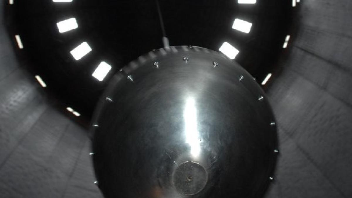 Rätselhafte Orte: Im Gaswerk wird die Erdrotation erlebbar - und ...
