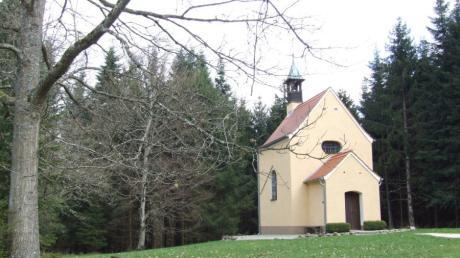 Unbekannte haben versucht, in die Scheppacher Kapelle bei Gessertshausen einzubrechen.