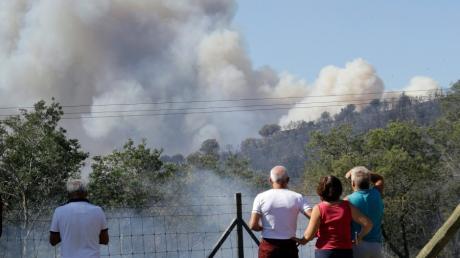 Brände in Frankreich