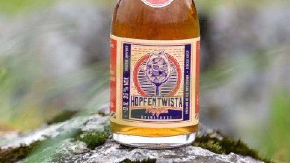 Oktoberfest: Schnaps statt Bier: Hopfentwista heißt ein neues ...