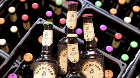 """Die Brauerei Thorbräu hat sich eine Nische gesucht, in der sie mit ihrer Braukunst gut im Geschäft sein kann. Eines der erfolgreichen Produkte ist das Bio-Bier """"Blümchen""""."""