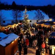 Der Weihnachtsmarkt im Kloster Oberschönenfeld gilt als einer der schönsten in der Region. Die Veranstalter sind guter Dinge, dass er heuer wieder stattfinden kann.