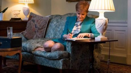 Die Nationalpartei (SNP) der schottischen Regierungschefin Nicola Sturgeon hat das Thema Unabhängigkeit nach der Wahlschlappe im Juni zurückgestellt, aber nicht aufgegeben. Foto: Twitter/@scotgov/Europa Press