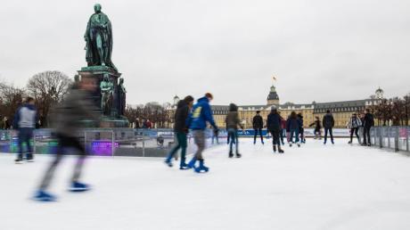 Der Mann soll einen Anschlag auf eine Eislaufbahn in Karlsruhe geplant haben.