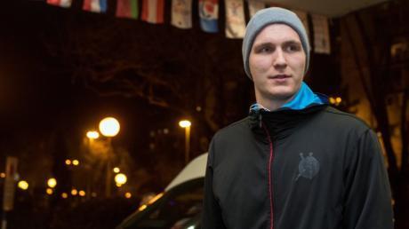 Abwehrchef Finn Lemke ist nach seiner Nachnominierung für die Handball-EM im deutschen Teamhotel in Zagreb angekommen.