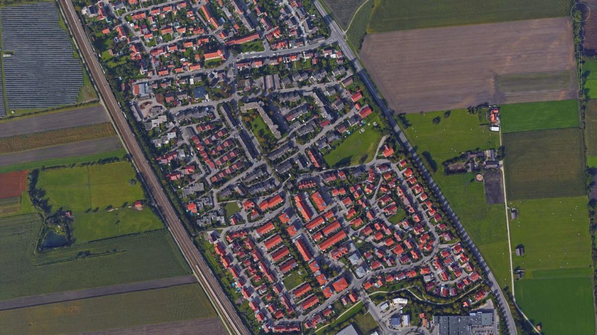 Folge 2: Erkennen Sie die Region Augsburg von oben?