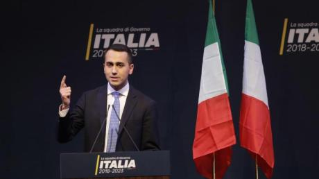 Dürfte mit dem Wahlergebnis zufrieden sein: Luigi Di Maio, der Spitzenkandidat der populistischen Fünf-Sterne-Bewegung in Italien.