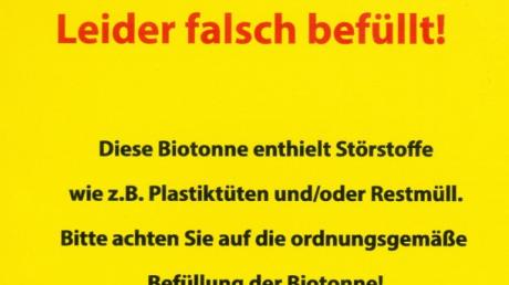 Aufkleber Kreisabfallwirtschaft Günzburg