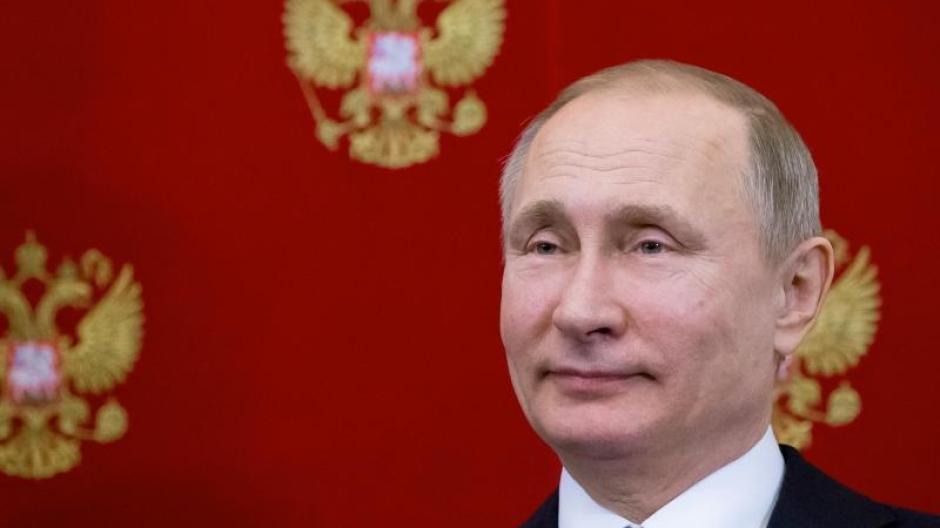 Wladimir Putin geht in das 19. Jahr seiner Herrschaft als russischer Präsident oder Ministerpräsident. Foto: Alexander Zemlianichenko/AP