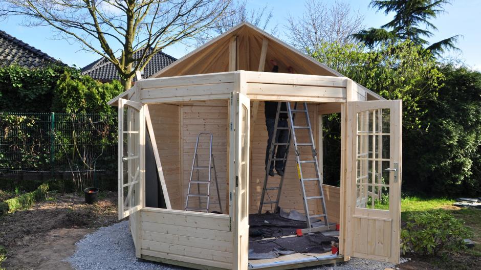Baurecht Gartenhäuser Müssen Genehmigt Werden Bauen Wohnen