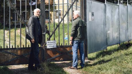 """Leitmayr (Udo Wachtveitl, links) und Batic (Miroslav Nemec) in einer Szene des Münchner Tatorts """"Freies Land""""."""