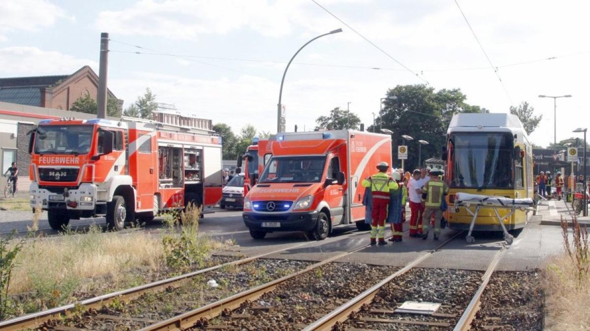Straßenbahnunfall Augsburg