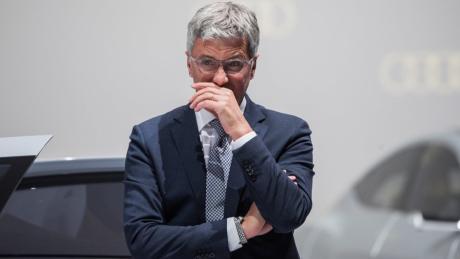 Rupert Stadler sitzt wegen Betrugsverdachts und Verdunkelungsgefahr in Untersuchungshaft.