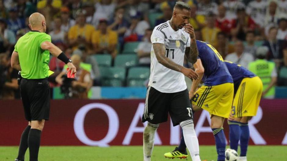 Rote Karte Wm 2018.Fußball Wm 2018 Hat Jerome Boateng Deutschland Aus Dem Turnier