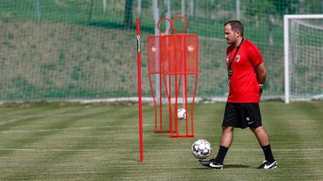 Manuel Baum im Trainingslager in Südtirol.