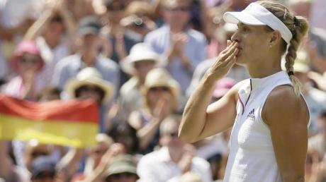 Angelique Kerber hofft auf ihren ersten Titel in Wimbledon.