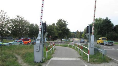 Schrobenhausen Bahnunfall