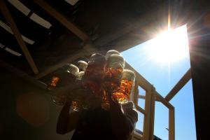 Zehn Grad wärmer: Das Oktoberfest hat ein eigenes Klima