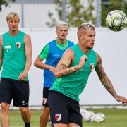 FC Augsburg, Training, Saison 2018 - 2019,