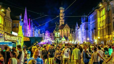Augsburger Sommernächte, das Stadtfest in der Innenstadt, wird auch 2019 ein Highlight werden.