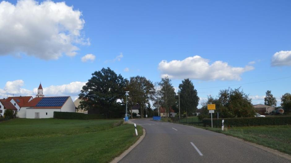 Ortsschild Birkhausen