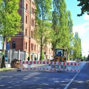 Gasleck in der Schertlinstraße