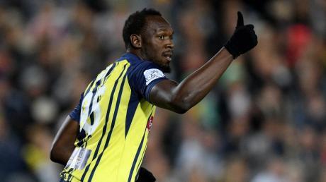 Usain Bolt spielt für die Central Coast Mariners.