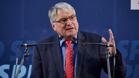 Wird es wohl in den Landtag schaffen: SPD-Listenführer Harald Güller.