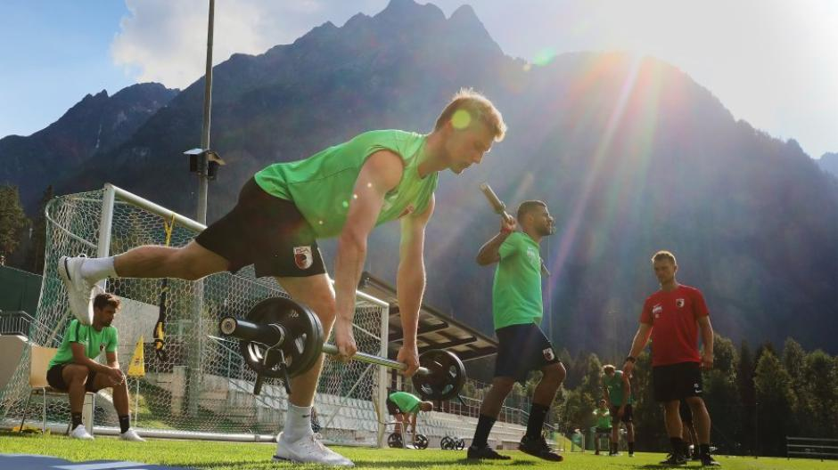 FC Augsburg, Trainingslager Längenfeld,