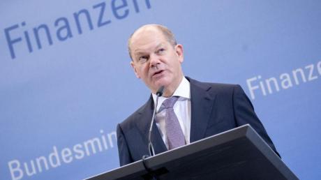 Für eine Mindestlohn von 12 Euro: SPD-Vize und Finanzminister Olaf Scholz.