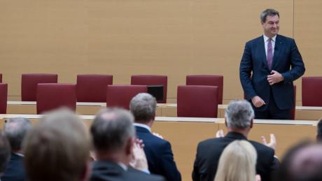Markus Söder ist erneut zum bayerischen Ministerpräsidenten gewählt worden.