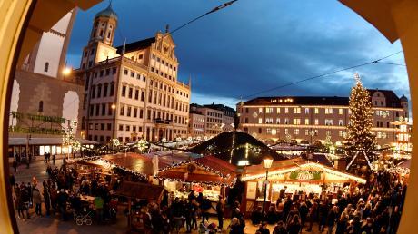 Der Christkindlesmarkt 2018 in Augsburg startet am Montag, 26. November.
