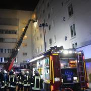 Feuer in Klinikum in Konstanz