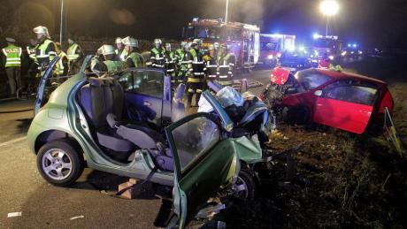 Zwei junge Frauen starben bei dem Unfall im November 2016 bei Rosenheim. Daran beteiligt war auch ein Mann aus Ulm.