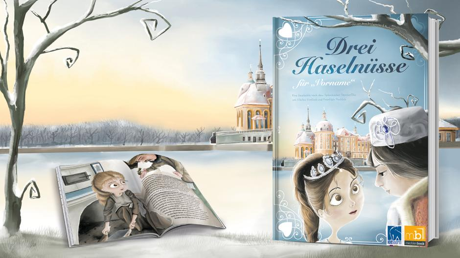 Personalisiertes Märchenbuch zu Weihnachten verschenken