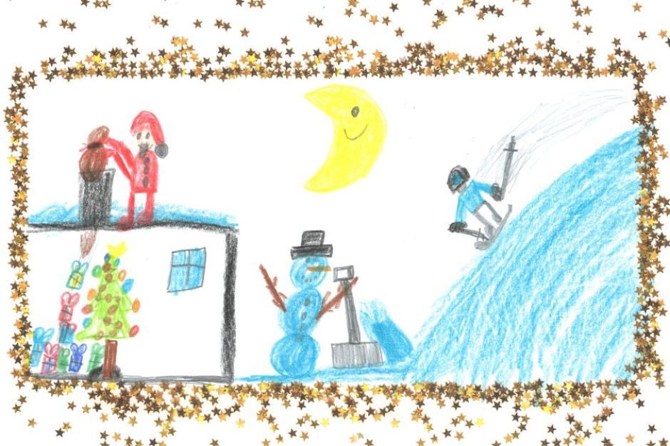 Weihnachtskarten Malen.So Schöne Weihnachtskarten Haben Kinder Für Uns Gemalt Nachrichten