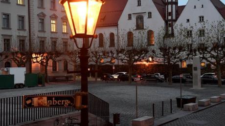 Der Elias-Holl-Platz.