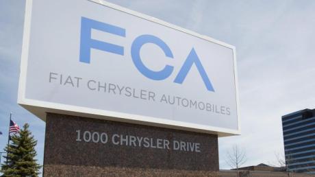 Zentrale von Fiat Chrysler in Auburn Hills im US-Bundesstaat Michigan. Foto: Rena Laverty/EPA